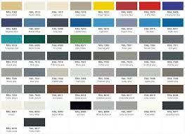 Ral Colour Chart 2016 Ral Colour Chart Grey Bedowntowndaytona Com