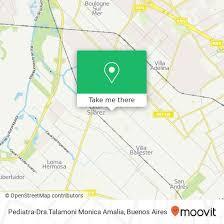 How to get to Pediatra-Dra.Talamoni Monica Amalia in General San ...