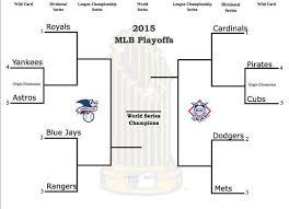 Mlb Playoffs 2015 Bracket For Baseballs Postseason Mlb