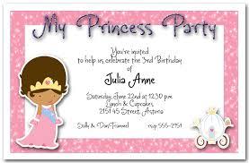 Ethnic Princess Party Invitation Princess Birthday Party Invitation