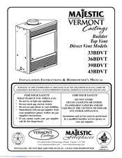 majestic 43bdvt manuals Majestic Fireplace Parts at Majestic Fireplace Wiring Diagram