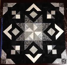 Black And White Quilt Patterns Delectable Black And White Gorram Quilts