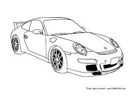 Cars Coloring Page Porsche 911 Gt3 Letmecolor Com Coches