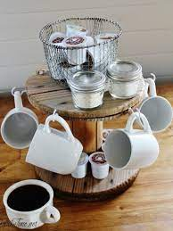 Our dining & entertaining category offers a great selection of coffee serving sets and more. Diy Coffee Bar Perk Up Your Home Design Bob Vila