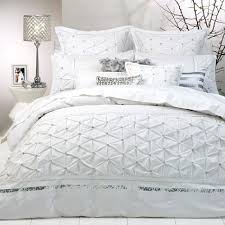 White Bed Comforters Solitaire White Quilt Cover Set By Logan ... & White Bed Comforters Solitaire White Quilt Cover Set By Logan Mason Ultima  White Full Bed Comforter Adamdwight.com