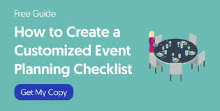 Party Planning Lists The Event Planning Checklist How To Tailor It To Your Event