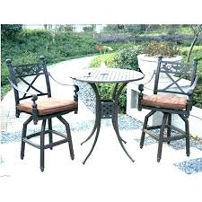 outdoor high top table and chairs patio high table and chairs outdoor furniture round table and