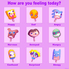 I Made A Character Popsicle Mood Chart Tweet Added By