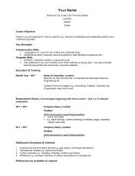 Free Resume Templates Canada Resume Examples