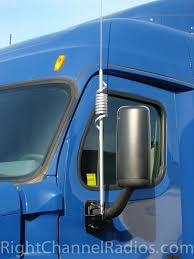 cascadia semi truck cb antenna mount right channel radios freightliner cascadia cb antenna mount · freightliner cascadia cb antenna mount installed