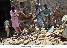 0 earthquakes in the past 24 hours. Nawabshah Pakistan 9th May 2014 People Check In Earthquake Hit Stock Photo Alamy