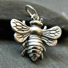 details about 925 sterling silver blebee pendant necklace honeybee bee large charm 1162