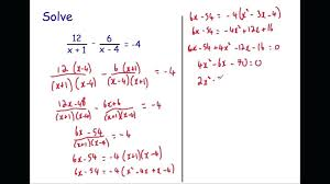 algebraic fractions equations tes how to clear from linear in algebra a math fraction is fun