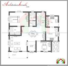 house plan kerala 3 bedrooms three bedroom house plan and