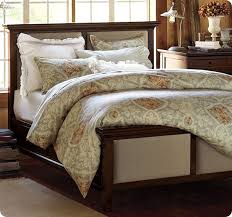 Nice Wood And Upholstered Headboard with Wood And Upholstered Beds