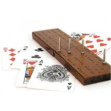 Wooden Board Games Uk Wooden Cribbage Board Game with Playing cards Available at This 93