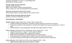 Resume Examples For Foreignguage Teachers Ixiplay Teacher Sample