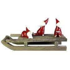 wooden sleigh home plans bed frame uk santa and reindeer