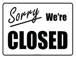 office will be closed sign template office closed sign closed sign free printable throughout office