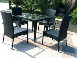lovely glass patio table set and medium size of glass patio table glass patio table set