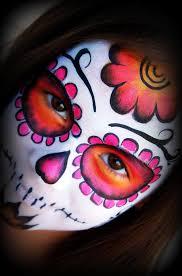 face paint sugar skulls sugar skull face painting