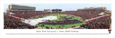 Texas Tech Jones Stadium Seating Chart Jones At T Stadium Facts Figures Pictures And More Of