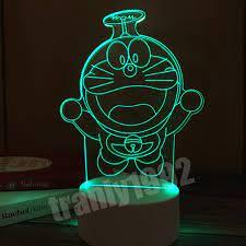 Đèn ngủ 3d DOREMON BAY, đèn ngủ, đèn trang trí, quà sinh nhật ý nghĩa