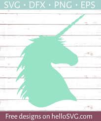 If you plan to use your silhouette to create products which you will sell, you must purchase a commercial license. Unicorn Silhouette Svg Free Svg Files Hellosvg Com