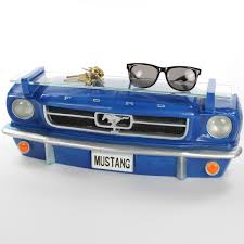 ford wall decor ford mustang front 1964 car shelf with lights d zoom