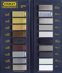 Different Hardware Finishes Metal Chart Us10b Finish Schlage