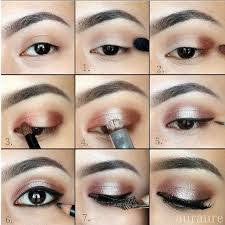 makeup pallate cara makeup natural korea eyeshadow tutorial pakai