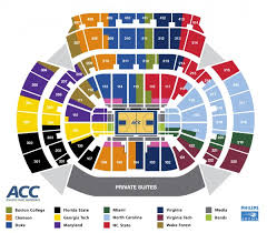 Acc Tournament Seating Chart Released Sorry Miami And