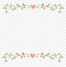 Floral Border Transparent Background Best Background