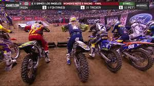 x games la 2016 women s moto x racing final
