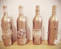 Home Decor With Wine Bottles Wine bottle decor Etsy 30