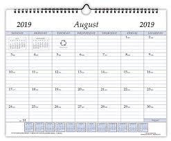 St 1114 Academic Wall Calendar 11 X 14 Inches