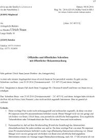 Check spelling or type a new query. Offizielles Und Offentliches Schreiben Mit Offentlicher Bekanntmachung Pdf Kostenfreier Download