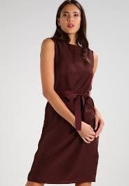 ONLY STUFLAVIA - Cocktailkleid / festliches Kleid deep mahogany ...