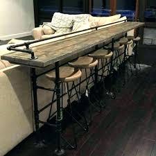 Bar Height Sofa Table Bar Height Table Behind Sofa Bar Bar Height