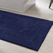 signature indigo bath rug pine cone hill
