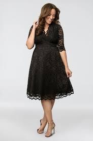 Kiyonna Dress Size Chart Mademoiselle Lace Plus Size Dress Kiyonna 12150901 12150901