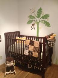 Divine Images Of Jungle Baby Nursery Room Design And Decoration Ideas :  Cool Jungle Baby Nursery