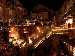 Risultati immagini per notte delle candele vallerano