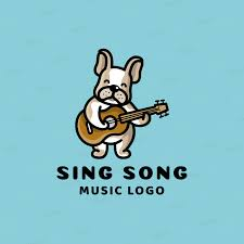 In 2019, the logo had a minor change: Placeit Kids Music School Logo Maker Featuring A Puppy Playing Guitar