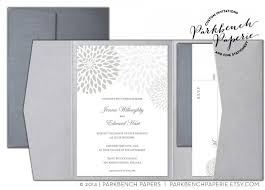 editable wedding invitation rsvp card and insert card pocket fold silver mums word template instant printable