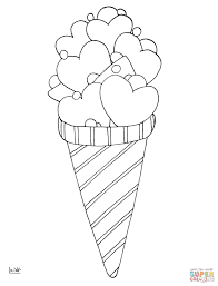 Ice Cream Lollipops Coloring Page Free Printable Pages In Lollipop