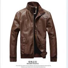 men big yards of locomotive leather jacket add soft nap coat 1