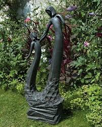 outdoor garden statues. Large Contemporary Art Sculptures - Loving Mother Modern Garden Statue Outdoor Statues E