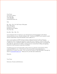 Cover Letter Sample Medical Assistant Sample Of Cover Letter For