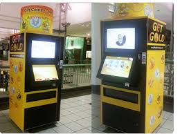 Kiosk Vending Machine Extraordinary GetGold Touch Vending Kiosk Vending Kiosk Interactive Touch